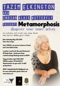 'Metamorphosis' - DisQover your inner selves' @ Lord Erroll's Restaurant - 89 Ruaka Road - Runda